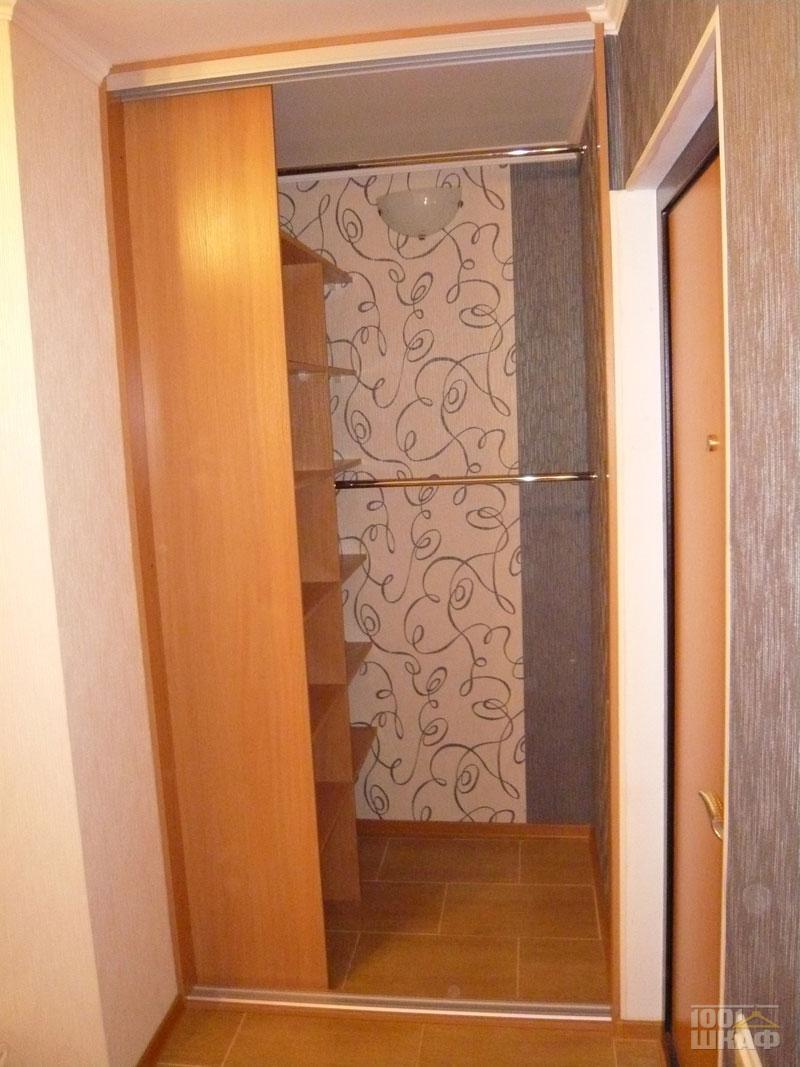 Двери шкафа-купе своими руками в нише