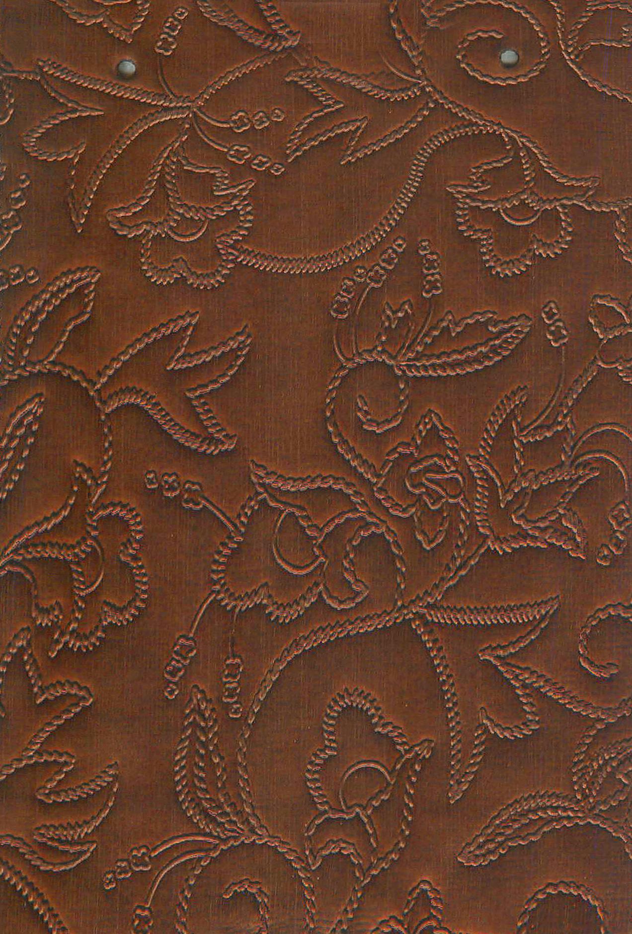 образец кожи цветы 3173