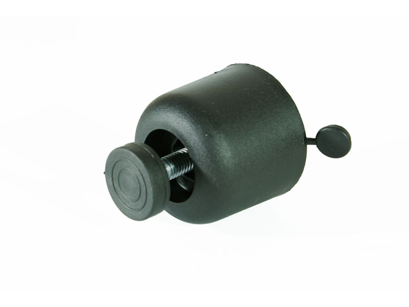 опора регулируемая 30 мм, черный