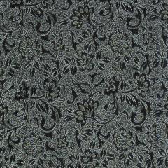 Образец кожи флора серебро