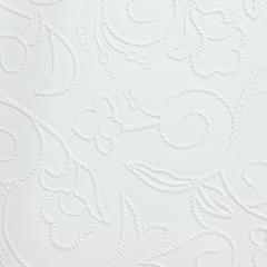 Образец кожи цветы белые