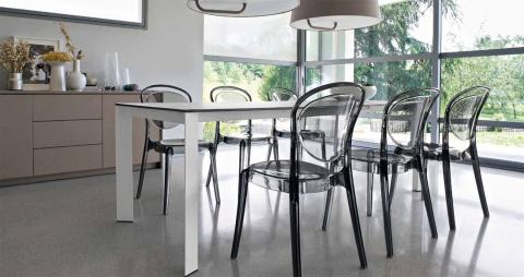 Стол и стулья Calligaris