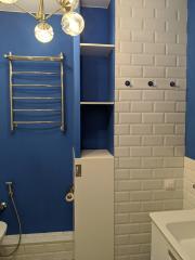 Шкаф технического назначения в ванную комнату