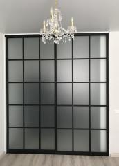 Встроенный шкаф-купе в стиле минимализм