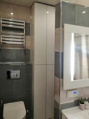 шкаф-колонка в ванную комнату