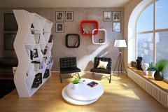радиусная мебель в гостиную