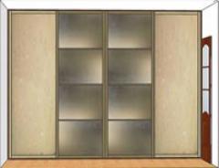 Фасад шкафа вариант 3