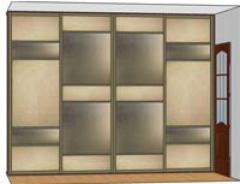 Фасад шкафа вариант 6