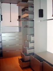 Гардеробная комната с наполнением фото 1