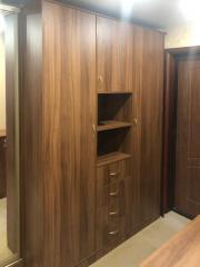 Распашной многофункциональный шкаф