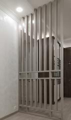 Реечная перегородка для зонирования помещения