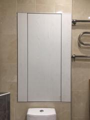 Универсальный встроенный шкаф в ванную комнату