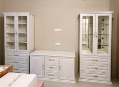 Гостиная ваниль: комплект мебели
