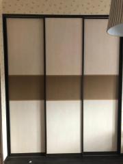 Шкаф-купе 3-х дверный, декорированный