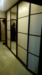 Встроенная мебель. Шкаф с зеркалом в прихожую.
