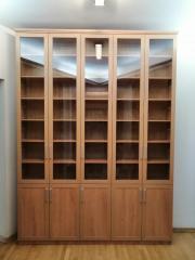 остекленный шкаф для книг