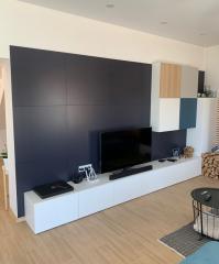 Минимализм: комплект мебели в гостиную