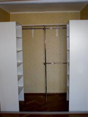 Вариант комплектации мини гардеробной