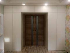 П-образный шкаф в комнату
