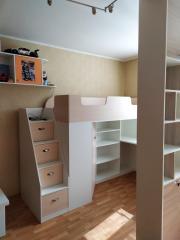 Красивая мебель в комнату девочки на заказ