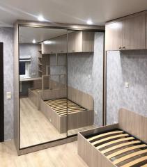 шкаф-купе и кровать в детскую комнату
