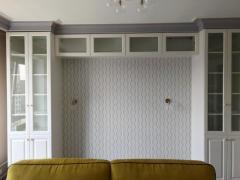 П-образный шкаф с распашными фасадами