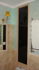 лаковый фасад в ванную комнату