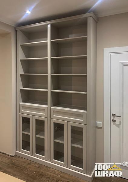 шкаф-стеллаж с наполнением