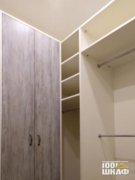 шкаф и стеллаж в гардерную