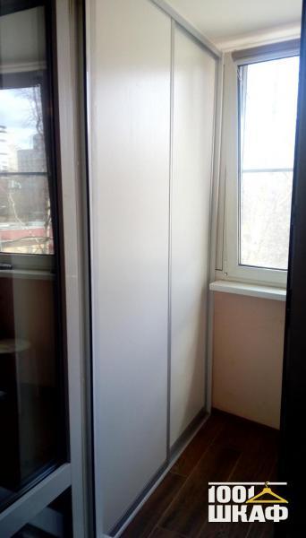 2-х дверный шкаф-купе, декорированный