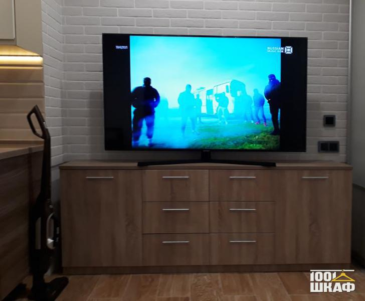 Тумба под телевизор Борнео трюфель