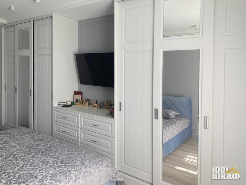 Шкаф-купе в спальню на заказ