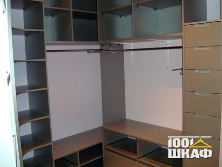 Гардеробная комната с наполнением фото 3