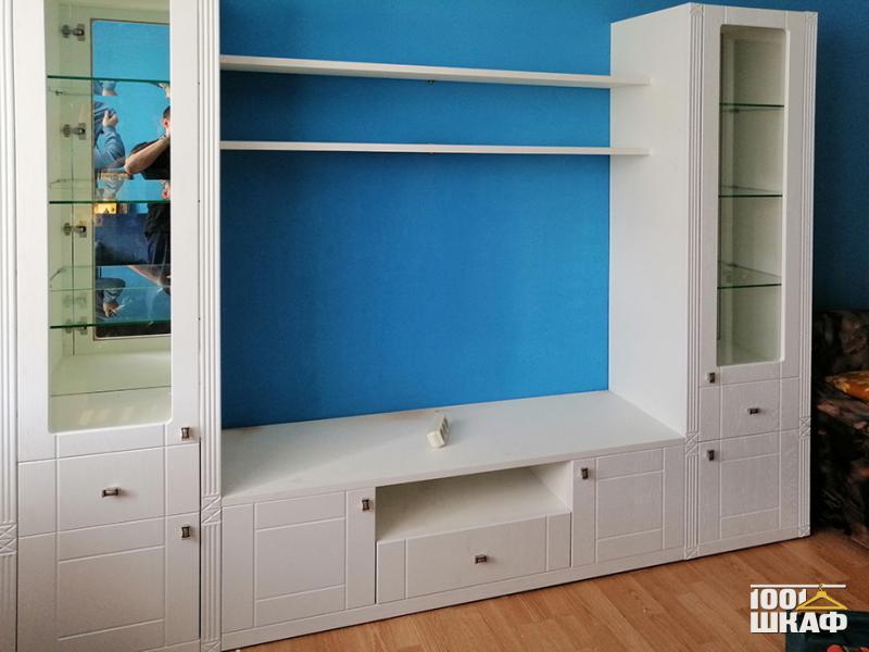 белая мебель на заказ