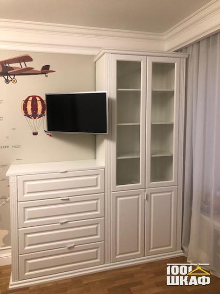 белая мебель в гостиную на заказ