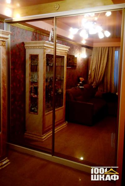 Встроенная мебель. Шкаф-купе в комнату.