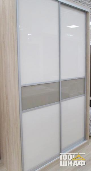 Шкаф-купе 2-х дверный встроенный с наполнением