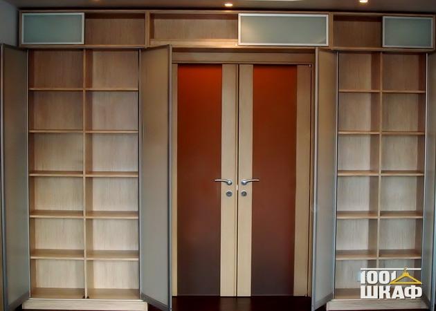 Шкаф П-образной формы - | Галерея по мебели на заказ и шкафам купе ...
