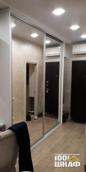 Комплект мебели в прихожую: шкаф-купе, распашной шкаф и тумба
