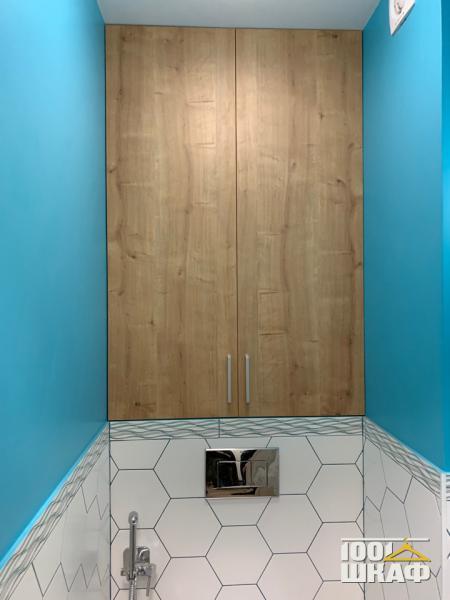 Шкаф встроенный для санузла