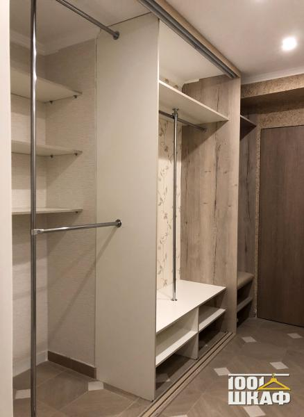 Шкаф-купе с наполнением для гардеробной