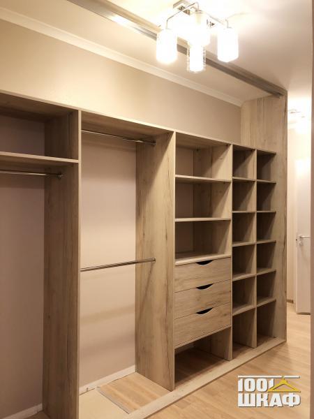 Встроенная мебель: шкаф купе с наполнением