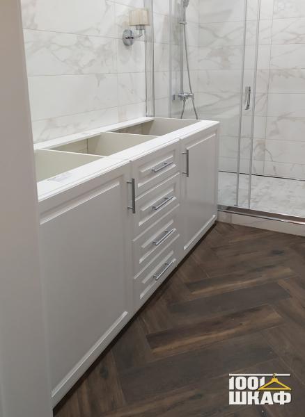 Тумба под раковину в ванную комнату на заказ