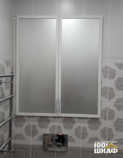 зеркальный шкаф в ванную комнату
