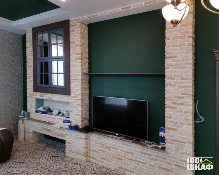 встроенная мебель в гостиную