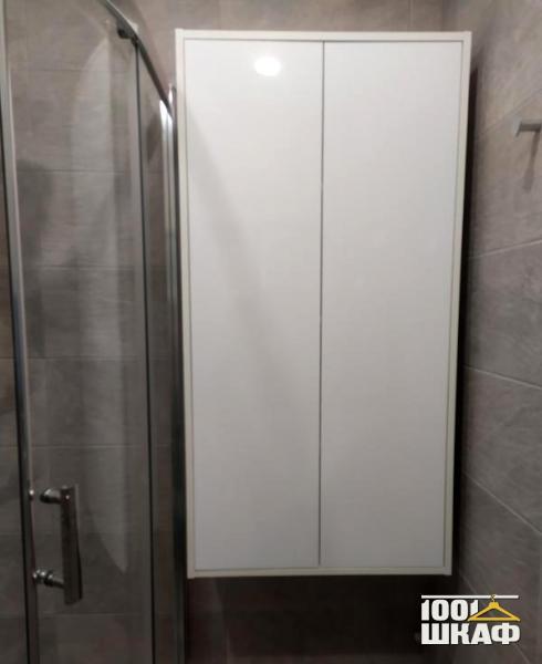 шкаф встроенный в ванную комнату