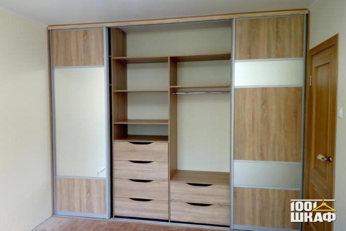 Вместительный шкаф-купе от производителя мебели