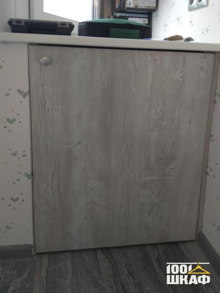 встроенный шкаф под подоконник на заказ