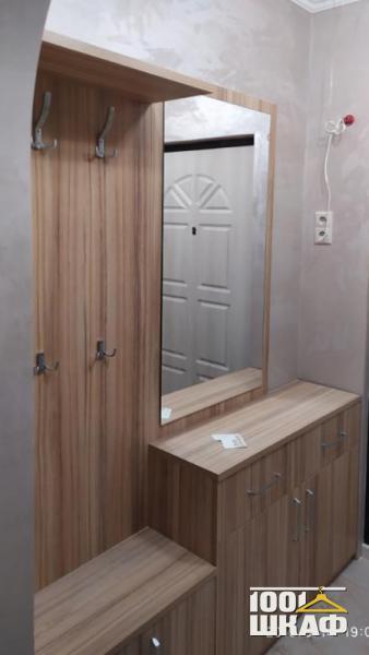 Комплект мебели в прихожую в цвете Орех Дижон
