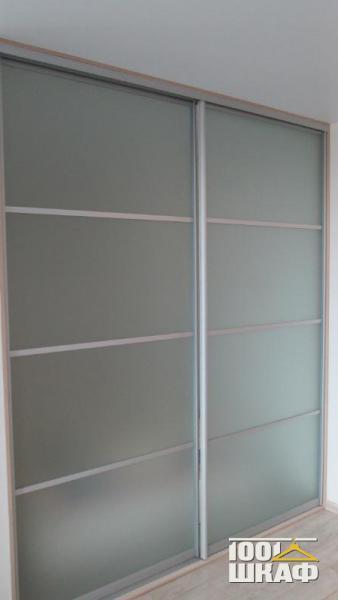 Шкаф-купе с матовыми фасадами на заказ